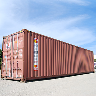 High Cube 40 Foot Shipping Container For Hire