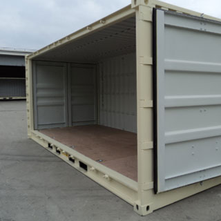 Side Opening Shipping Container For Hire