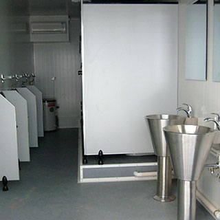 Shipping Container Bathrooms For Hire
