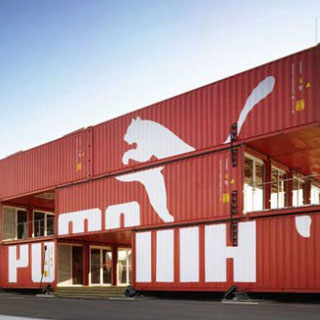 Branded Shipping Containers For Hire