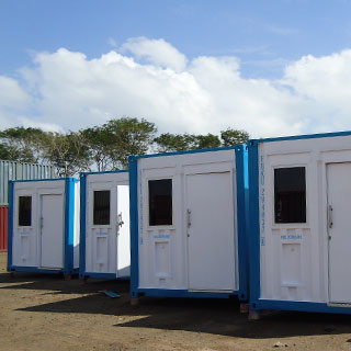 Shipping Container Accommodation Units For Hire